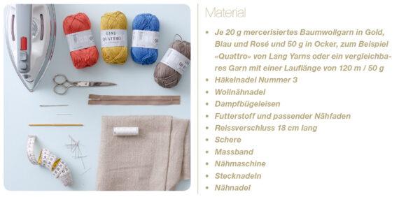 Materialien Etui
