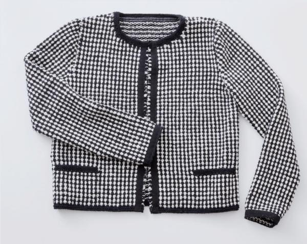 Strickanleitung für eine Chanel Look Jacke