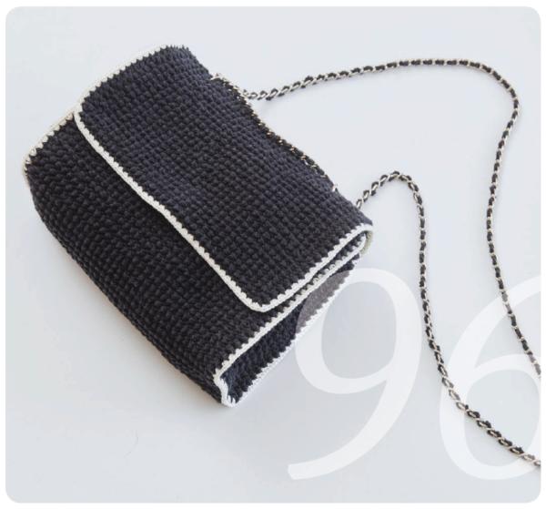 Häkelanleitung für eine Handtasche im Chanel Look