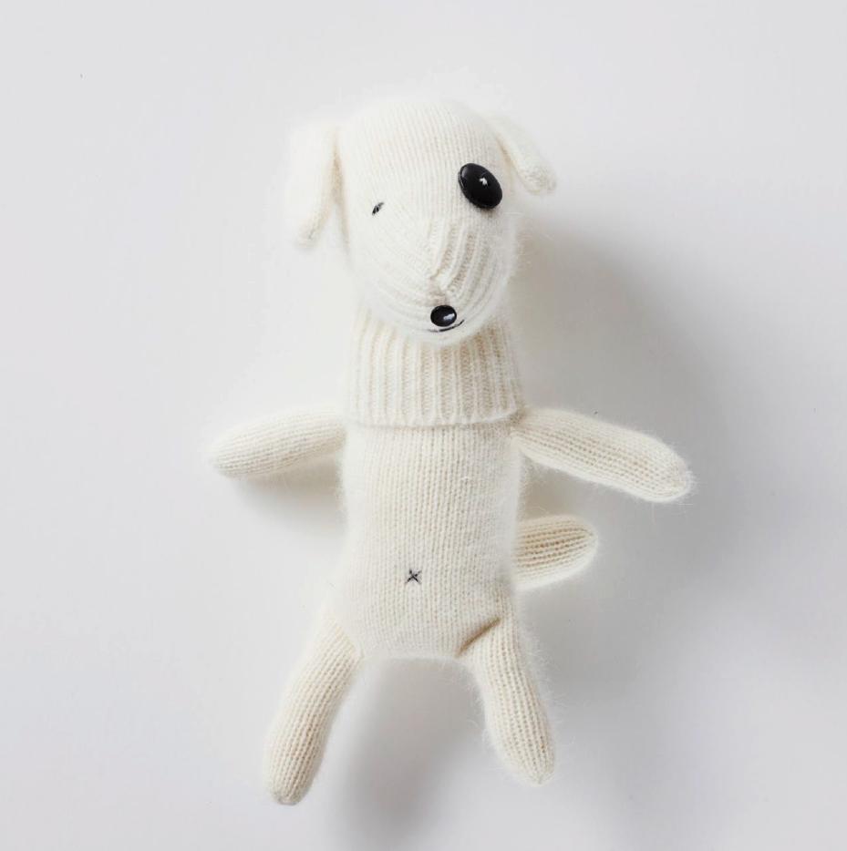 Nähanleitung für einen Hund aus einem Handschuh nähen
