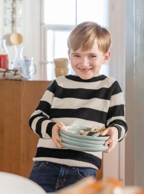 Kinderpullover aus der Schweizer Landliebe