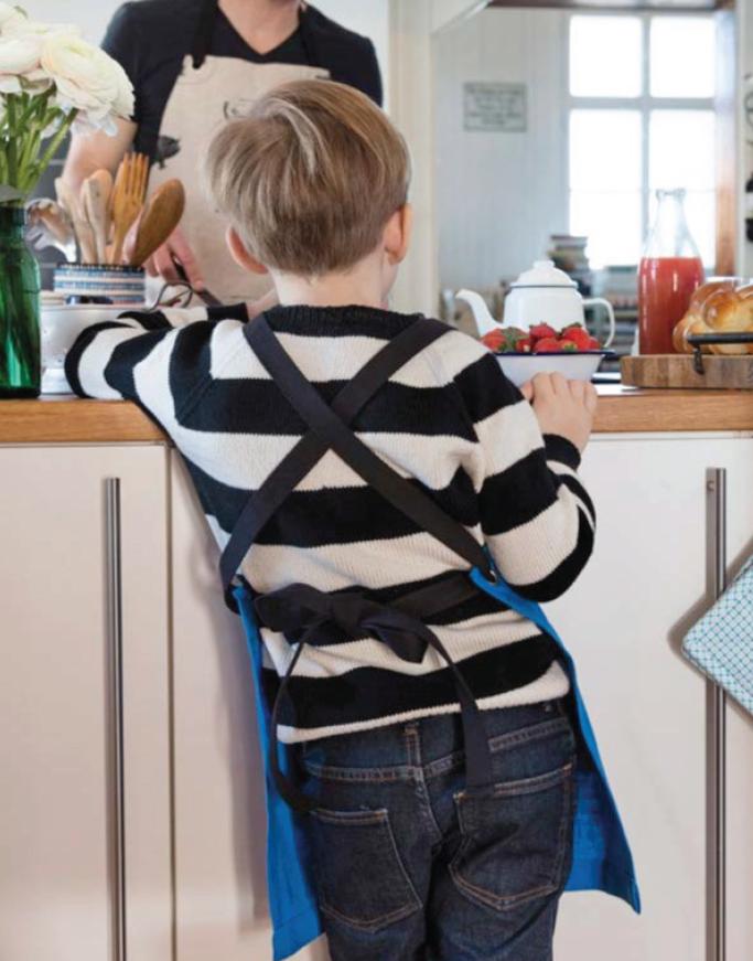 Strickanleitung für einen Kinderpullover aus der Schweizer Landliebe