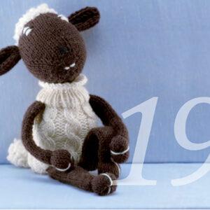Strickanleitung für ein Schaf
