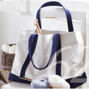 Schnittmuster für eine grosse Stofftasche