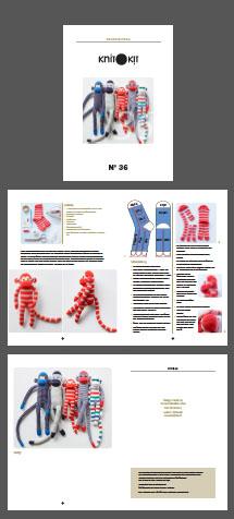 Anleitung zum Stofftiere nähen aus Socken
