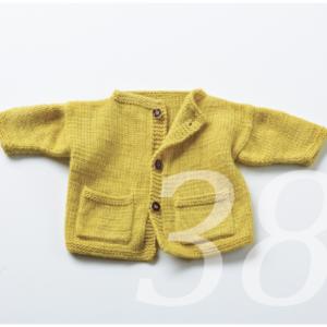 Strickanleitung für eine Babyjacke