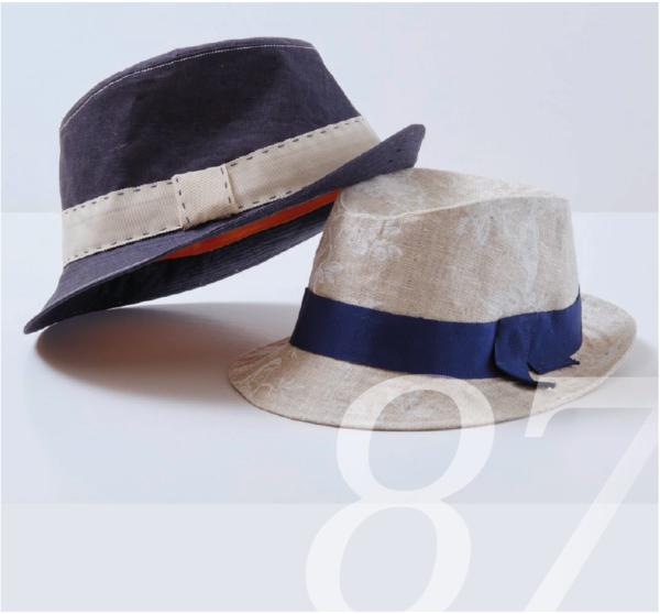 Schnittmuster für einen Hut