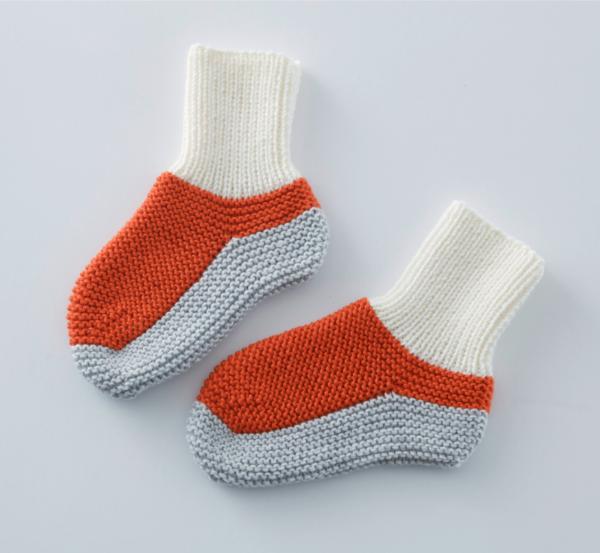 Strickanleitung für Lounge Socken für zu Hause