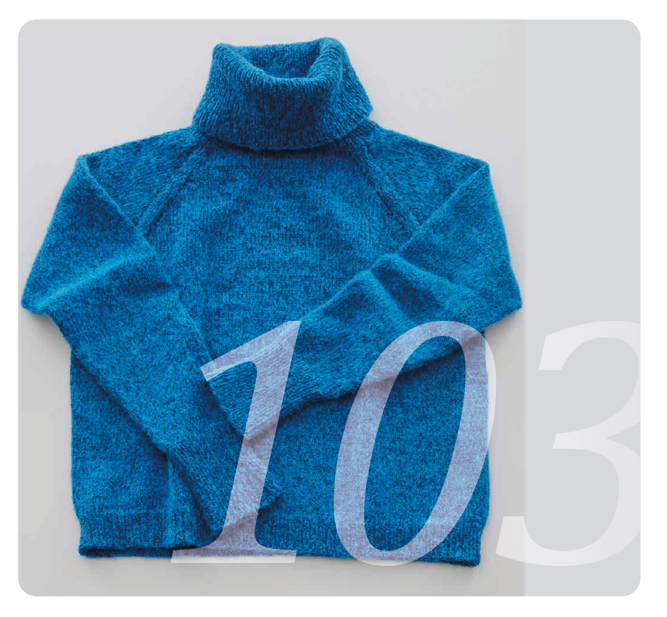 Strickanleitung für einen Pullover für Damen und Herren